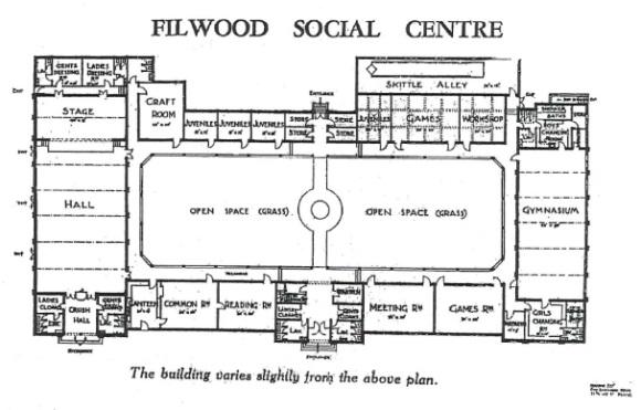 filwoodsocialcentreplan1937
