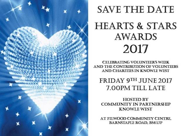hearts and stars invite